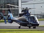 M-IKEY Eurocopter Dauphin AS365 Helicopter (29385122644).jpg