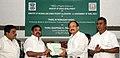 M. Venkaiah Naidu handing over the financial sanction of Rs. Three Hundred and Sixty Crores under AMRUT scheme to the Chief Minister of Tamil Nadu, Shri Edappadi K. Palaniswami in Chennai.jpg