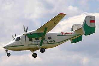PZL M28 Skytruck - Image: M28 Skytruck Góraszka 2 (cropped)