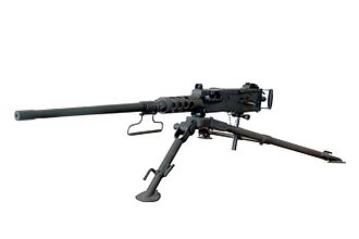 Machine gun - A .50 caliber M2 machine gun: John Browning's design has been one of the longest serving and most successful machine gun designs
