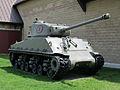 M4A2(76)HVSS Sherman tank Goderich Ontario 2012.jpg