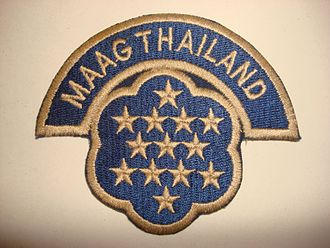 Military Assistance Advisory Group - This is a US Military Service badge for the US Military Advisory and Assistance Group in Thailand