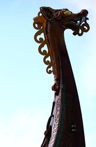 Draken Harald Hårfagre - Figurehead of Draken Harald Hårfagre