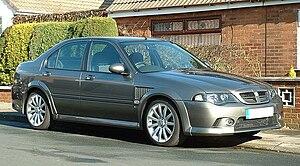 MG ZS - 2004 MG ZS180 Saloon facelift
