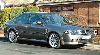 MG ZS - 2004 MG ZS180 Saloon facelift