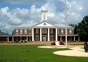 National Register of Historic Places listings in Perry County, Alabama - Image: MMI Chapel and Lovelace Hall 02