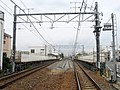 MT-Ajiyoshi Station-Platform (temporary) 7.jpg