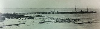 Flinders Bay - View of Flinders Bay jetty 1899/1902