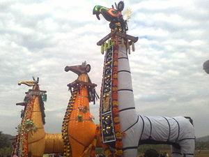 Machad Mamangam - Wooden horses of Mamangam