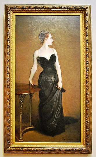 Portrait of Madame X - Image: Madame X (Madame Pierre Gautreau), 1883 84, Metropolitan Museum of Art