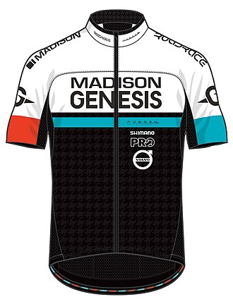 Madison Genesis - Image: Madison Genesis cycling team jersey 2017