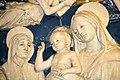 """Madonna col Bambino e i Santi Francesco, Elisabetta d'Ungheria, Cristina di Bolsena (o Orsola) e Lorenzo"""", Andrea della Robbia (1500 ca.), 06.jpg"""