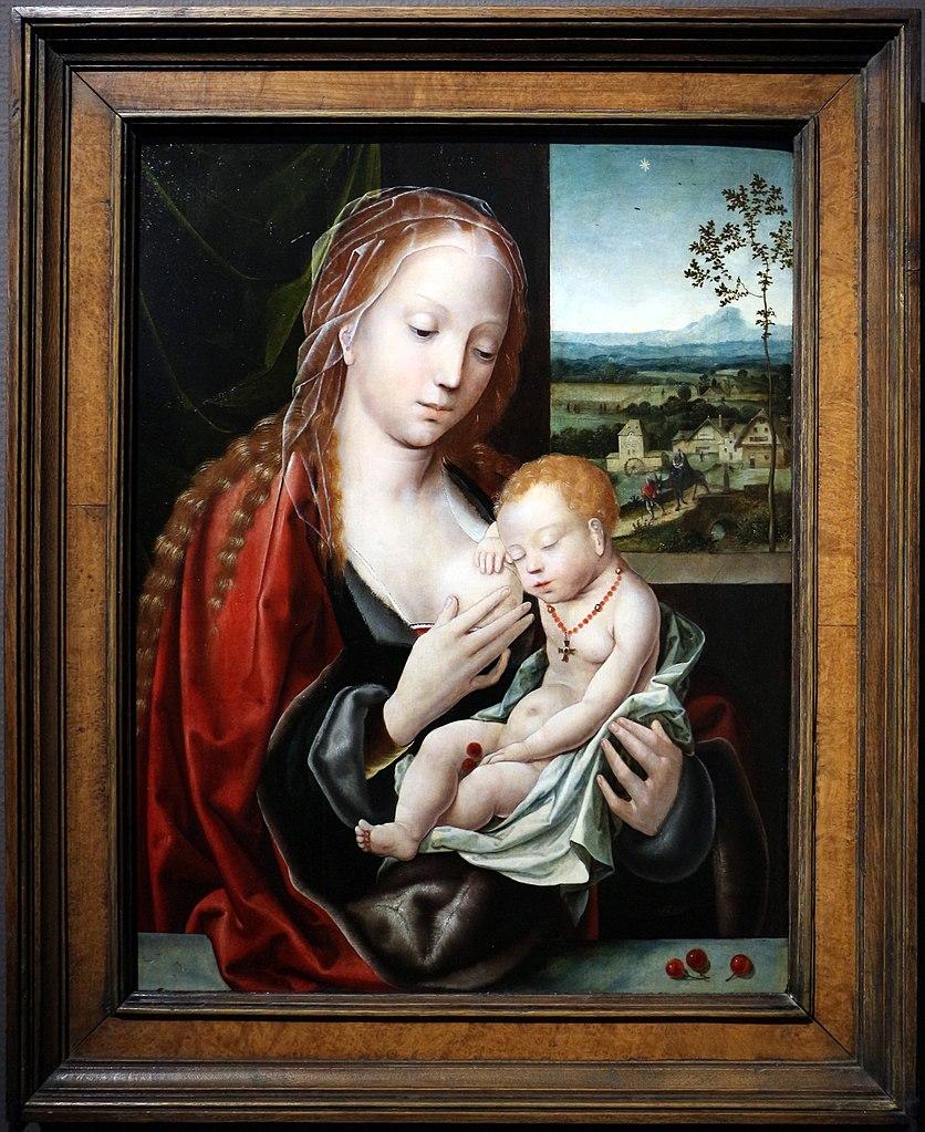 https://upload.wikimedia.org/wikipedia/commons/thumb/9/91/Maestro_dei_pappagalli%2C_madonna_col_bambino%2C_1540-45_ca._01.jpg/836px-Maestro_dei_pappagalli%2C_madonna_col_bambino%2C_1540-45_ca._01.jpg