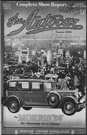 Autocar (magazine) - 14 October 1932 issue