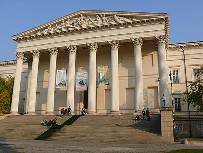 How to get to Magyar Nemzeti Múzeum with public transit - About the place