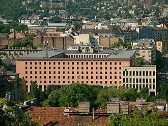 Magyar Telekom - Headquarters of Magyar Telekom in Budapest.