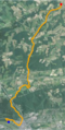 Mahoning Creek (Susquehanna River) satellite map.PNG