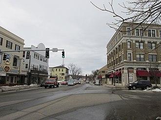 Sanford (CDP), Maine - Main Street