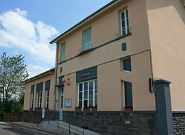 The town hall in Saint-Hilaire-les-Monges