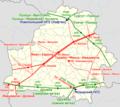 Major gas and oil pipelines in Belarus — Магистральные газо- и нефтепроводы в Беларуси.png