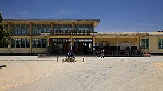 Railway stations in Tanzania - The Makambako Station.