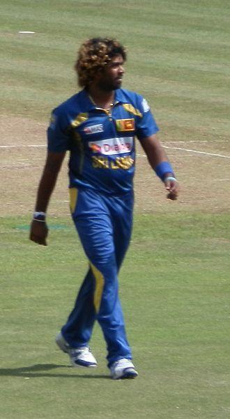 Lasith Malinga - Image: Malinga at Pallekele Stadium against South Africa