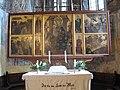 Malmkrog Kirchenburg Altar Festtagsseite.jpg