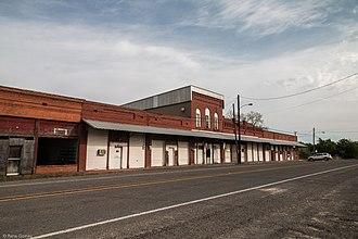 Malone, Texas - Downtown Malone
