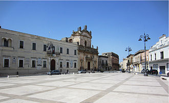 Manduria - Garibaldi Square in Manduria