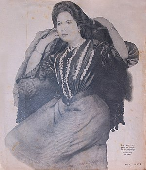 Miss Venezuela - Manuela Victoria Mujica from Lara, Miss Venezuela 1905. The first venezuelan women winner the title of Miss Venezuela by popular vote.