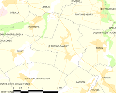 Map commune FR insee code 14288.png