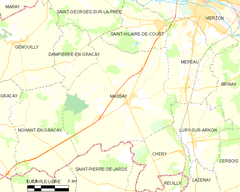 Map commune FR insee code 18140.png