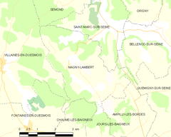 Map commune FR insee code 21364.png