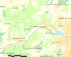 Map commune FR insee code 21485.png