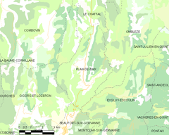 Map commune FR insee code 26240.png