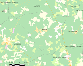 Map commune FR insee code 40123.png