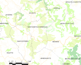 Map commune FR insee code 64489.png