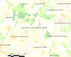 Map commune FR insee code 85248.png