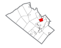 Map of Fullerton, Lehigh County, Pennsylvania Highlighted.png