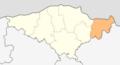 Map of Kaynardzha municipality (Silistra Province).png