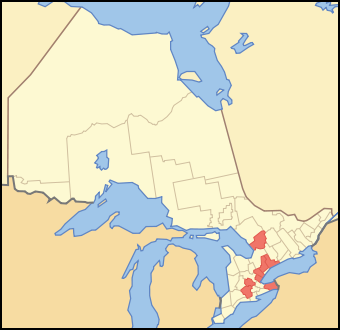 Regional Municipalities of Ontario