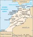 Mapa Marrocos em português Map of Morocco in Portuguese.png
