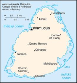 Mapa da/do MauríciaPE / MaurícioPB