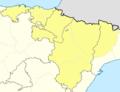 Mapa Segunda División B Grupo II 2012-13.png