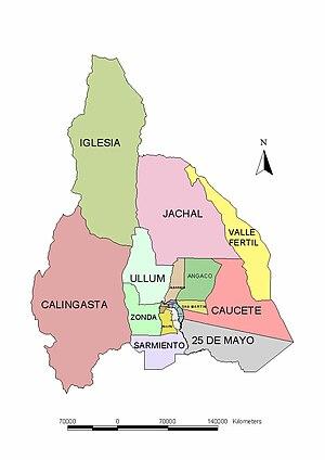 Jeu-O-Graphie III : La Coupe du Monde - Page 40 300px-Mapa_divisi%C3%B3n_pol%C3%ADtica%2C_Provincia_de_San_Juan