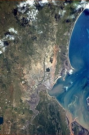 Maputo from ISS