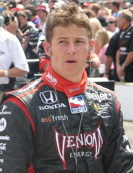 Marco Andretti 2009 Indy 500 Carb Day