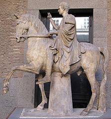 Equestrian statues of Marcus Nonius Balbus