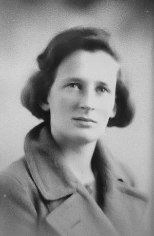 Margaret Gowing - Gowing as a student at LSE