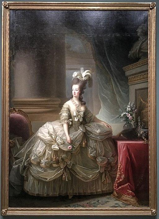 Marie-Antoinette en grand habit de cour - 1778 - Elisabeth Louise Vigée Le Brun